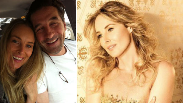 Chynna Phillips appears with husband Billy Baldwin in a photo posted on her Twitter page in June 2011. / Chynna Phillips appears in a photo posted on her Facebook page.