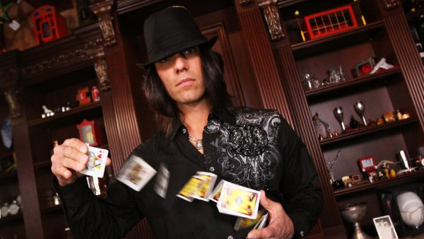 Criss Angel turns 45 on Dec. 19, 2012. The magician is known for his television show &#39;Criss Angel Mindfreak.&#39; The personality has also made headlines for his recent engagement to girlfriend Sandra Gonzalez.Pictured: Criss Angel appears in a scene from his A and E Network show &#39;Criss Angel Mindfreak.&#39; <span class=meta>(Angel Productions Incorporated &#47; TVX)</span>