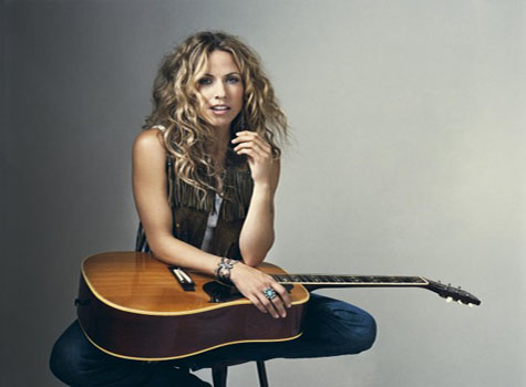 Still of Sheryl Crow on her personal Facebook...