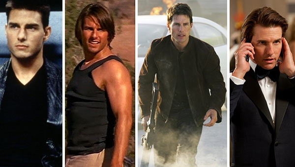 Tom Cruise appears in scenes from the films Mission: Impossible, Mission: Impossible II, Mission: Impossible III and Mission: Impossible - Ghost Protocol. - Provided courtesy of Paramount Pictures