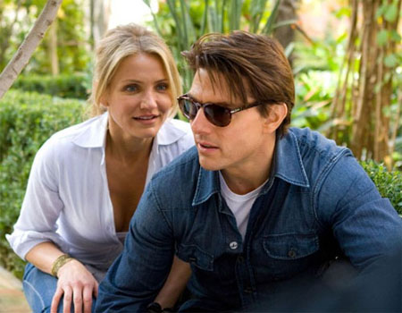 Today he may be the one checking into swanky hotel suites, but Tom Cruise was once a bellhop assisting others during their stay. Cruise briefly aspired to become a priest so he joined a seminary at an early age. While in Kentucky, he also was a paperboy for the Louisville Courier-Journal. (Pictured: Tom Cruise and Cameron Diaz in a scene