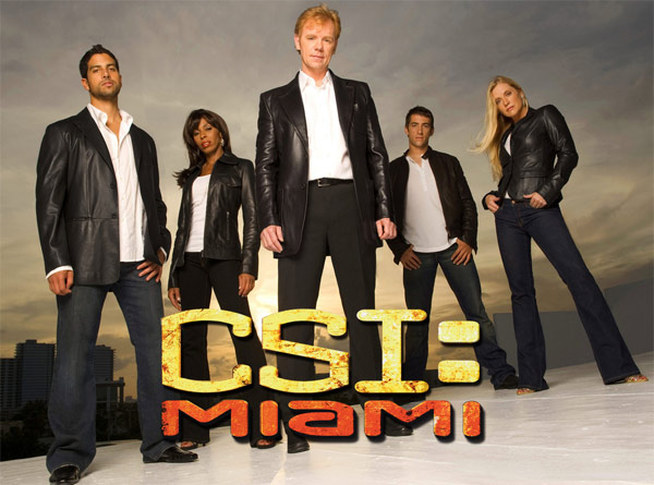 Still image from the cast of 'CSI: Miami.'