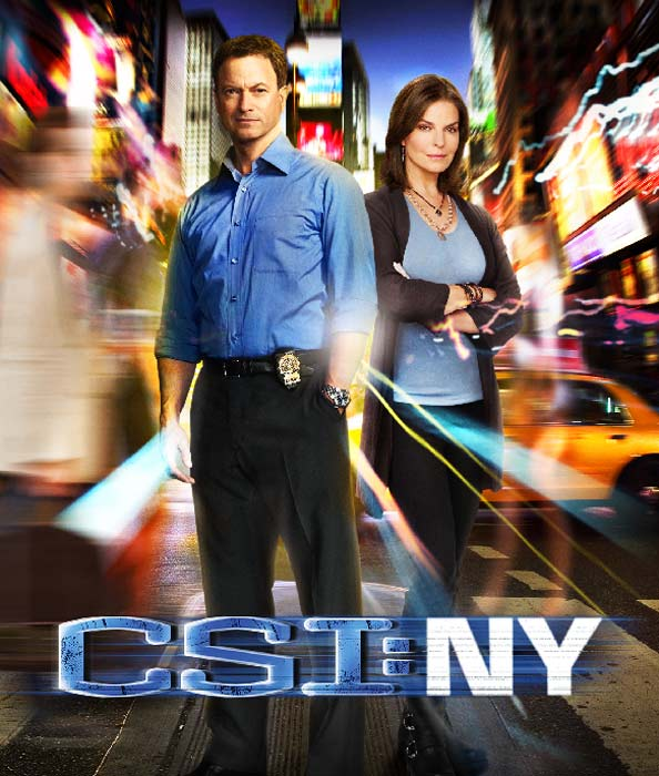 Still image of Gary Sinise and Sela Ward from 'CSI: NY.'