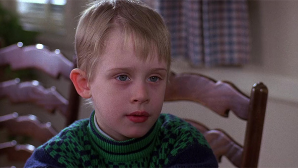 Macaulay Culkin appears in a scene from John Hughes&#39; 1989 film &#39;Uncle Buck.&#39; John Candy played a fun-loving slacker named Buck who agrees to babysit his sister&#39;s children after she and her husband travel to visit her ill father-in-law. Culkin and Gaby Hoffmann played young kids Miles and Maizy, while Jean Louisa Kelly, who would later star in the sitcom &#39;Yes, Dear,&#39; portrayed rebellious teenager Tia. Candy died in 1994 at age 43. Hughes passed away in 2009 at age 59.  <span class=meta>(Universal Pictures &#47; Hughes Entertainment)</span>