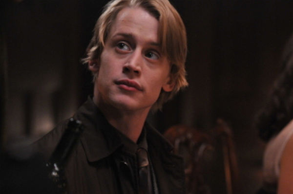 Macaulay Culkin appears in a scene from the NBC series &#39;Kings,&#39; which was canceled after several episodes after its 2009 debut. The series was set in the present day and was based loosely on the Biblical story of King David, whose modern counterpart, Captain David Shepherd, was portrayed by Christopher Egan. Culkin played his exiled nephew, Andrew. <span class=meta>(Brandman Productions &#47; CinemaLab)</span>