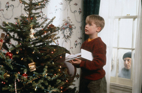 Macaulay Culkin appears with Joe Pesci (left) in a scene from the 1991 film 'Home Alone 2: Lost in New York.'