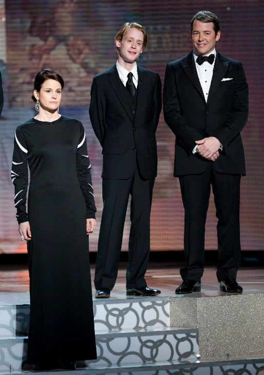 Ally Sheedy, Macaulay Culkin, and Matthew Broderick at the 82nd Annual Academy Awards at the Kodak Theatre in Hollywood, CA, on Sunday, March 7, 2010.