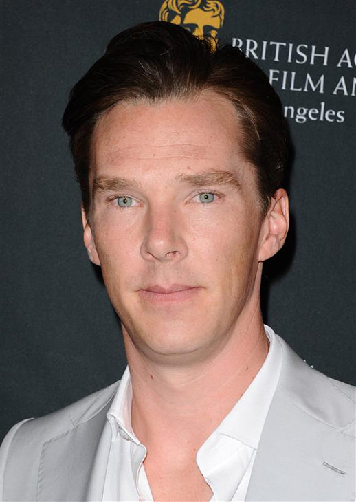 Benedict Cumberbatch appears at the 2014 BAFTA LA Awards Season Tea Party in Beverly Hills, California on Jan. 11, 2014.