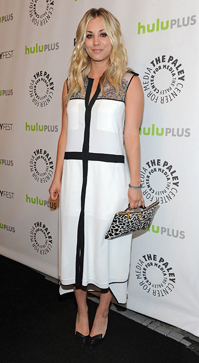 &#39;The Big Bang Theory&#39; star Kaley Cuoco attends the Paley Center for Media&#39;s PaleyFest honoring the CBS show at the Saban Theatre, courtesy of Samsung Galaxy, on Wednesday, March 13, 2013 in Los Angeles. <span class=meta>(Kevin Parry for Paley Center for Media)</span>