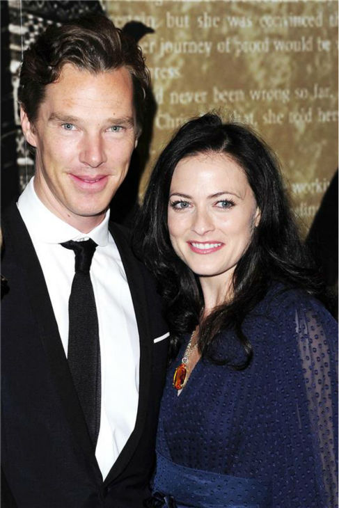 Benedict Cumberbatch and &#39;Sherlock&#39; co-star Lara Pulver appear at the 2012 Specavers Crime Thriller Awards in London on Oct. 18, 2012. <span class=meta>(Peter &#47; BARCROFT &#47; Startraksphoto.com)</span>
