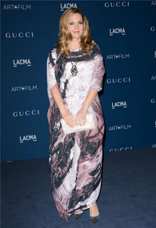 Drew Barrymore appears at the LACMA Art and Film Gala, honoring Martin Scorsese And David Hockney, at the Los Angeles County Museum of Art on Nov. 2, 2013.