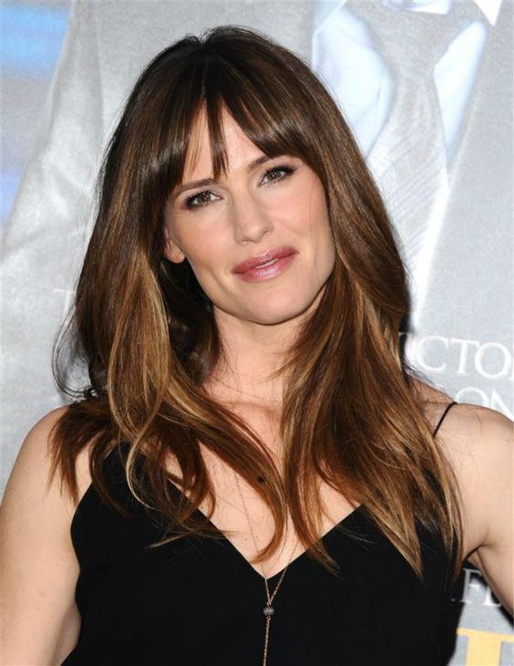 Jennifer Garner knows that no one here has hair as perfect as hers.  &#40;Pictured: Jennifer Garner appears at the premiere of &#39;Draft Day&#39; in Westwood, near Los Angeles, on April 7, 2014.&#41; <span class=meta>(Sara De Boer &#47; Startraksphoto.com)</span>