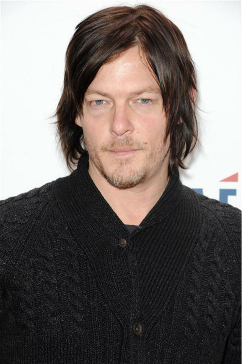 "<div class=""meta ""><span class=""caption-text "">Norman Reedus, who plays Daryl Dixon on AMC's 'The Walking Dead,' walks the red carpet at the 2013 Z100 Jingle Ball at Madison Square Garden in New York on Dec. 13, 2013. (Bill Davila / Startraksphoto.com)</span></div>"