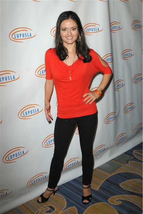 Danica McKellar &#40;&#39;The Wonder Years&#39; Winnie Cooper&#41; appears at the 10th annual Hollywood Bag Ladies luncheon in Beverly Hills, California on Nov. 1, 2012.  <span class=meta>(Tony DiMaio &#47; Startraksphoto.com)</span>