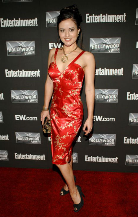 Danica McKellar &#40;&#39;The Wonder Years&#39; Winnie Cooper&#41;, appears at Entertainment Weekly&#39;s Oscars party at Elaine&#39;s in New York on Feb. 25, 2007.  <span class=meta>(Paul Hawthorne &#47; Startraksphoto.com)</span>