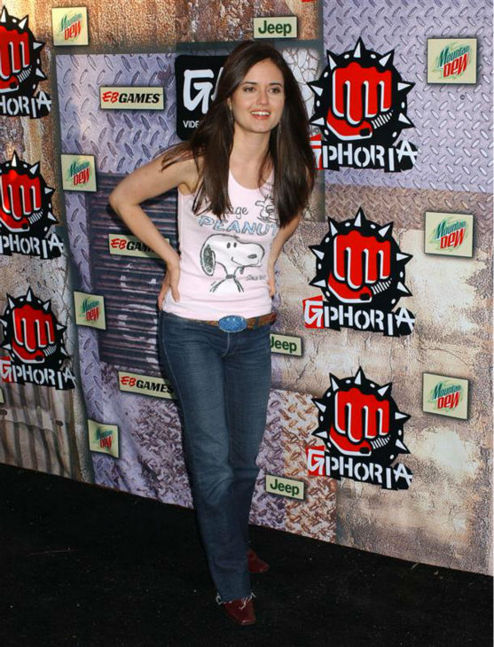 Danica McKellar &#40;&#39;The Wonder Years&#39; Winnie Cooper&#41;, appears at the 2005 G-PHORIA The Mother of All Game Award Shows, held at the Los Angeles Center Studios, on July 27, 2005.  <span class=meta>(Albert L. Ortega &#47; Startraksphoto.com)</span>
