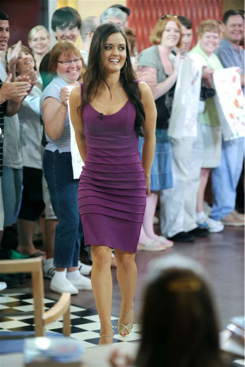 Danica McKellar &#40;&#39;The Wonder Years&#39; Winnie Cooper&#41;, appears on ABC&#39;s &#39;Good Morning America&#39; in New York on Aug. 6, 2008.  <span class=meta>(Bill Davila &#47; Startraksphoto.com)</span>