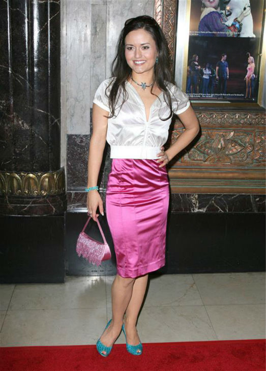 Danica McKellar &#40;&#39;The Wonder Years&#39; Winnie Cooper&#41;, appears at the premiere of &#39;Legally Blonde: The Musical&#39; in Hollywood, California on Aug. 14, 2009.  <span class=meta>(Andy Fossum &#47; Startraksphoto.com)</span>