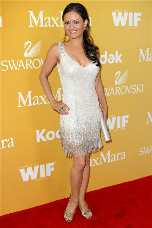 Danica McKellar &#40;&#39;The Wonder Years&#39; Winnie Cooper&#41; appears at the 2012 Crystal &#43; Lucy Awards, presented by Women In Film, in Los Angeles on June 12, 2012. <span class=meta>(Norman Scott &#47; Startraksphoto.com)</span>
