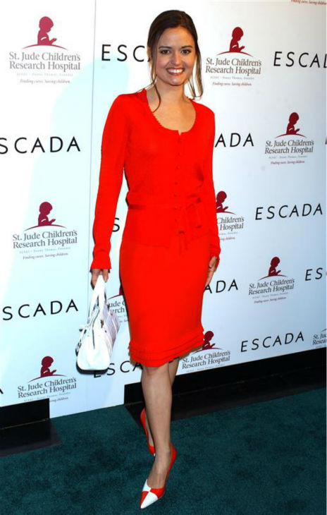 Danica McKellar &#40;&#39;The Wonder Years&#39; Winnie Cooper&#41;, appears at the launch of Escada&#39;s 2006 Spring &#47; Summer Collection, benefiting St. Jude&#39;s Children&#39;s Research Hospital, in Los Angeles on Nov. 17, 2005.  <span class=meta>(Albert L. Ortega &#47; Startraksphoto.com)</span>