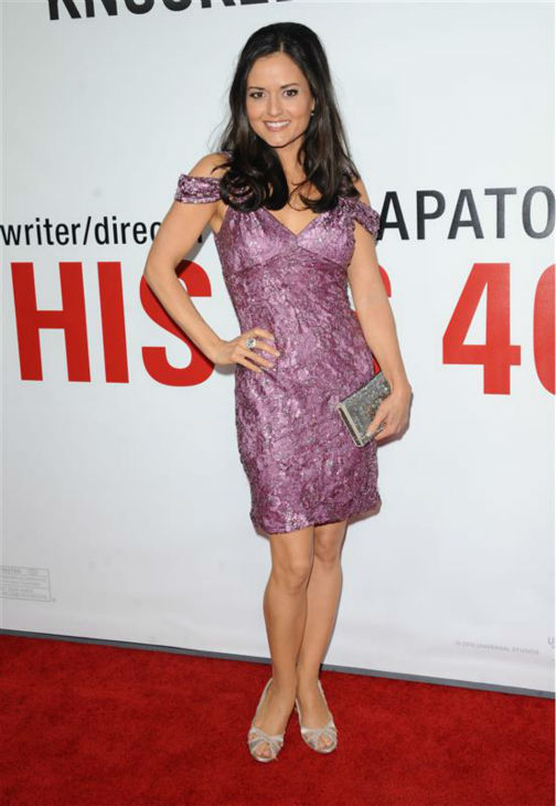 Danica McKellar &#40;&#39;The Wonder Years&#39; Winnie Cooper&#41; appears at the premiere of &#39;This Is 40&#39; in Los Angeles on Dec. 12, 2012. <span class=meta>(Sara De Boer &#47; Startraksphoto.com)</span>