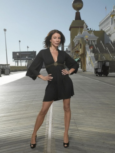 Danielle Staub in a promotional still for on 'The Real Housewives of New Jersey.'