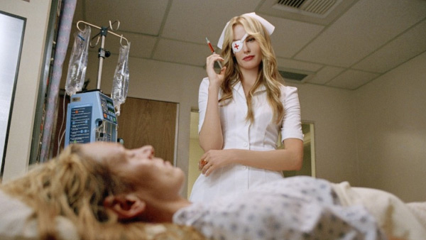 Daryl Hannah appears in a scene from the 2003 film 'Kill Bill: Vol. 1.'