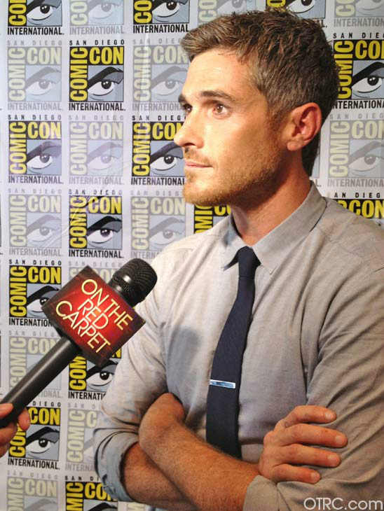 Dave Annable of the new television series &#39;666 Park Avenue&#39; appears in a photo at San Diego Comic-Con on Friday, July 13, 2012. <span class=meta>(OTRC Photo)</span>