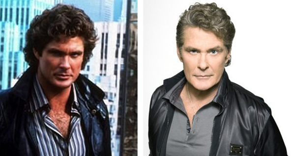 David Hasselhoff has said he has used Botox in the past. Pictured:   To the left, David Hasselhoff appears in a scene from the 1982 film &#39;Knight Rider.&#39; At right, he appears in a still for &#39;America&#39;s Got Talent.&#39;It is unclear whether David Hasselhoff underwent cosmetic procedures prior to appearing in the 1982 film &#39;Knight Rider.&#39; <span class=meta>(MPTV Images &#47; Fremantle Media)</span>