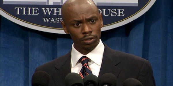 Dave Chappelle turns 39 on Aug. 24, 2012. The actor and comedian is known for his work in his sketch comedy series &#39;Chappelle&#39;s Show.&#39;&#40;Pictured: Dave Chappelle appears in a scene from the television show &#39;Chappelle&#39;s Show.&#39;&#41; <span class=meta>(Marobru Inc. &#47; Mobile Video Productions Inc.  Pilot Boy Productions)</span>
