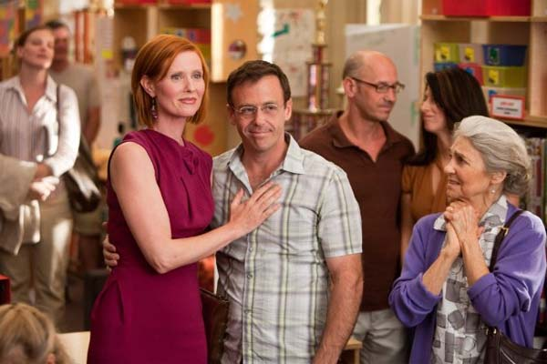 David Eigenberg turns 48 on May 17, 2012. The actor is known for shows such as &#39;Sex and the City&#39; and movies such as &#39;The Mothman Prophecies,&#39; &#39;Sex and the City&#39; and &#39;Sex and the City 2.&#39; &#40;Pictured: Cynthia Nixon &#40;left&#41;, David Eigenberg &#40;center&#41; and Lynn Cohen &#40;right&#41; in a scene from the 2010 film, &#39;Sex and the City 2.&#39;&#41;  <span class=meta>(MMIX New Line Productions, Inc. - Craig Blankenhorn)</span>
