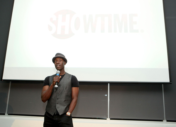 Don Cheadle appears at the Los Angeles premiere of the new Showtime series, &#39;House of Lies,&#39; on Jan. 4, 2012. <span class=meta>(Eric Charbonneau &#47; WireImage)</span>