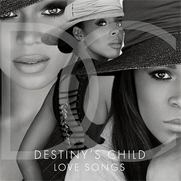 Beyonce, Kelly Rowland and Michelle Williams appear on the cover of Destinys Childs 2013 album, Love Songs. - Provided courtesy of Legacy Recordings