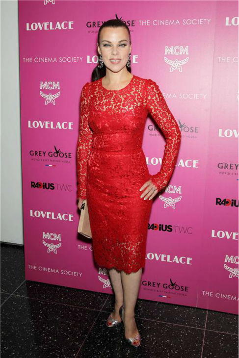 Debi Mazar attends a screening of 'Lovelace,' hosted by the Cinema Society and MCM with Grey Goose, at the Metropolitan Museum of Art (MoMa) in New York on July 30, 2013.