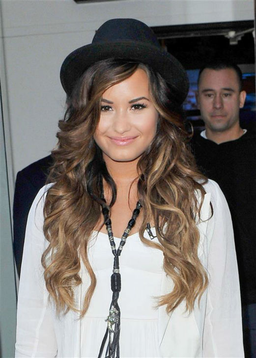 Demi Lovato appears in New York on Sept. 19, 2011. <span class=meta>(Humberto Carreno &#47; Startraksphoto.com)</span>