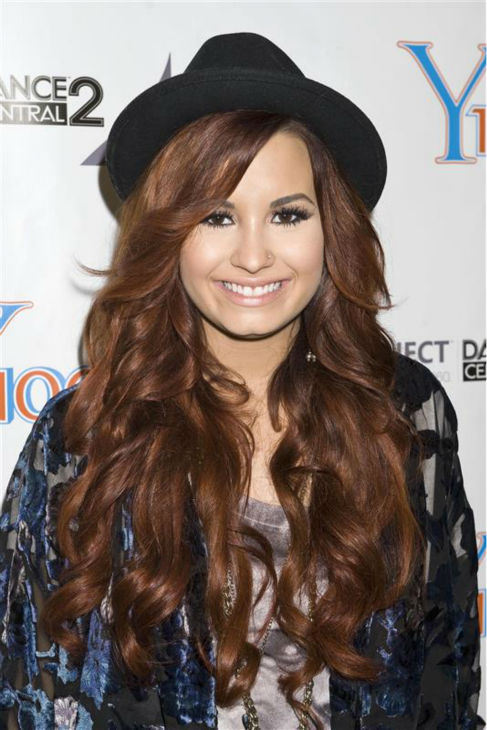 "<div class=""meta image-caption""><div class=""origin-logo origin-image ""><span></span></div><span class=""caption-text"">Demi Lovato appears at Y100's Jingle Ball 2011 in Florida on Dec. 10, 2011. (Justin Campbell / Startraksphoto.com)</span></div>"
