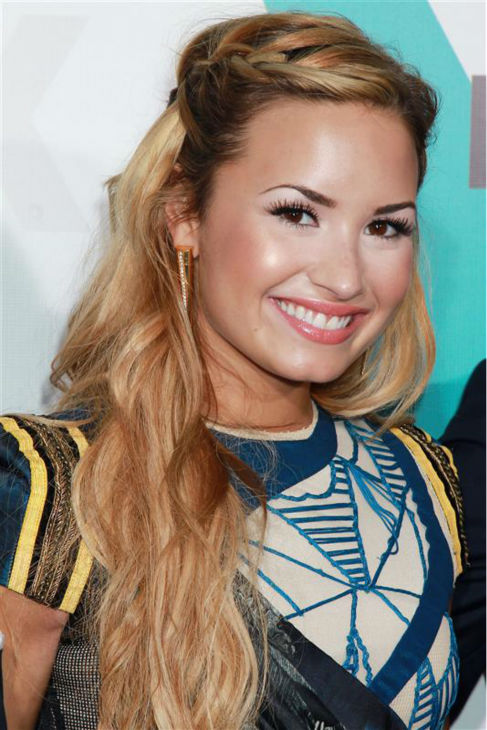 Demi Lovato appears at FOX&#39;s 2012 Upfront presentation in New York on May 14, 2012. <span class=meta>(Dave Allocca &#47; Startraksphoto.com)</span>