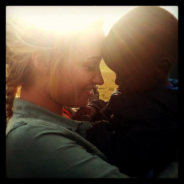 Demi Lovato traveled to Africa in August 2013, just before her 21st birthday, to do some charity work for the Canadian youth group Free the Children. On Aug. 24, she tweeted: &#39;This baby boy named Iain broke my heart when I had to say goodbye.. He kept running after me while saying &#39;Bye Demi.&#39; &#40;See more PHOTOS of celebrities who made a difference by making others happy.&#41; <span class=meta>(twitter.com&#47;ddlovato&#47;status&#47;371388174414528512&#47;photo&#47;1&#47;large &#47; pic.twitter.com&#47;Ul902kpRJ3)</span>