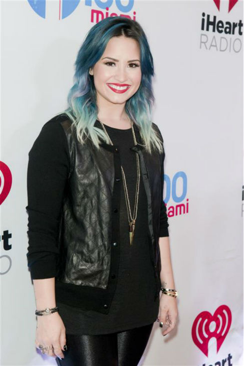 Demi Lovato appears at Y100&#39;s Jingle Ball 2013 in Florida on Dec. 20, 2013.  <span class=meta>(Paul Emmans &#47; Startraksphoto.com)</span>