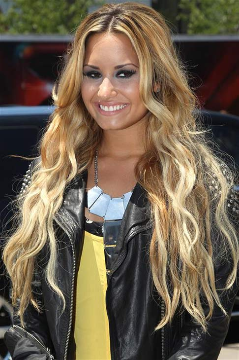 Demi Lovato appears at &#39;The X Factor&#39; auditions in Kansas City, Missouri on June 8, 2012. <span class=meta>(Norman Scott &#47; startraksphoto.com)</span>