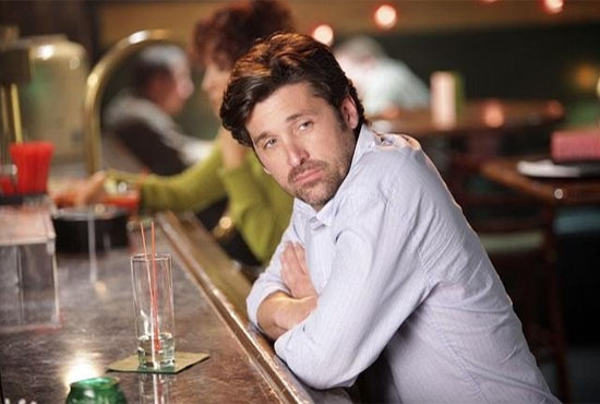 Patrick Dempsey in a scene from the hit television drama, 'Grey's Anatomy.'