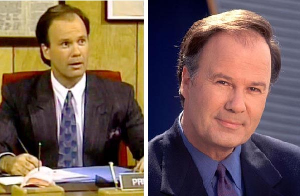 Dennis Haskins as Mr. Belding from 'Saved by the...