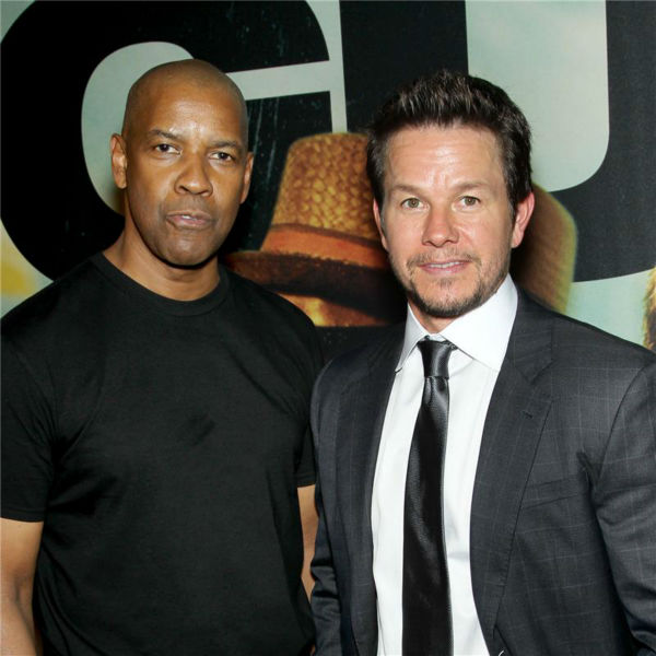 Denzel Washington and Mark Wahlberg attend the premiere of the film &#39;2 Guns&#39; at the SVA Theatre in New York on July 29, 2013. <span class=meta>(Marion Curtis &#47; Startraksphoto.com)</span>