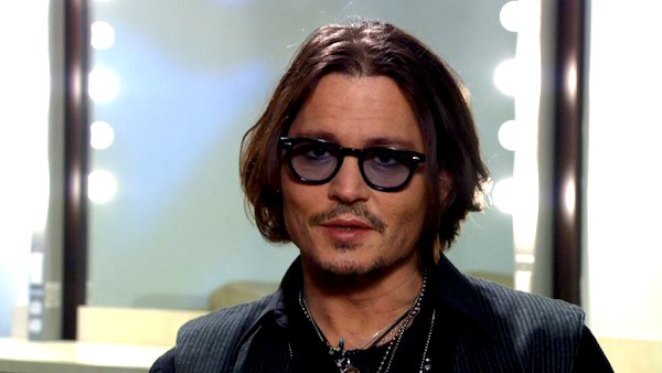 Johnny Depp talks about 'The Lone Ranger' at Disney CinemaCon on April 24, 2012.