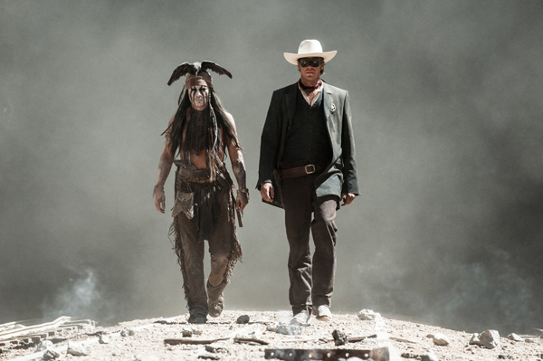 "<div class=""meta ""><span class=""caption-text "">Johnny Depp and Armie Hammer appear as Tonto and The Lone Ranger in a scene from Walt Disney's 2013 movie 'The Lone Ranger.' (Walt Disney Pictures)</span></div>"