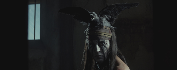 Johnny Depp appears as Tonto in a scene from Walt Disney&#39;s 2013 movie &#39;The Lone Ranger.&#39; <span class=meta>(Walt Disney Pictures)</span>