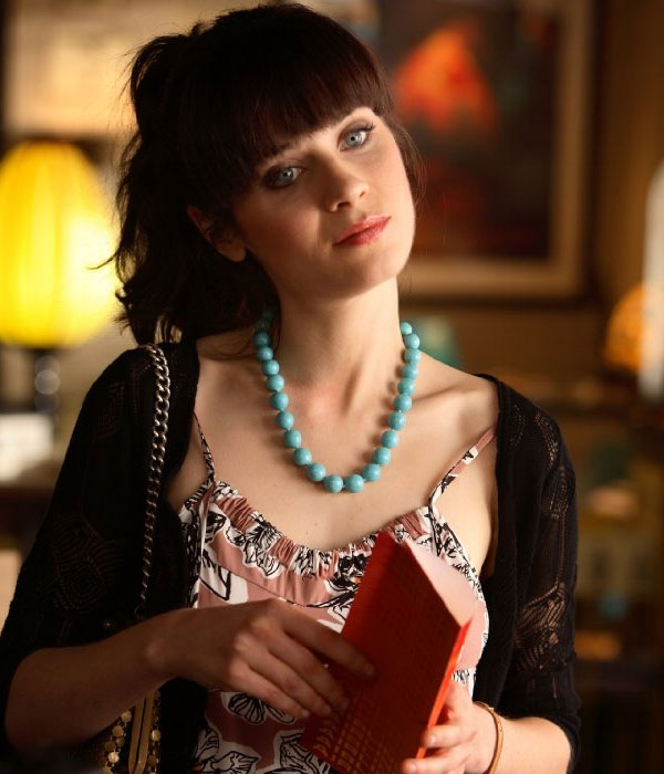 Zooey Deschanel appears in a scene from the 2006...