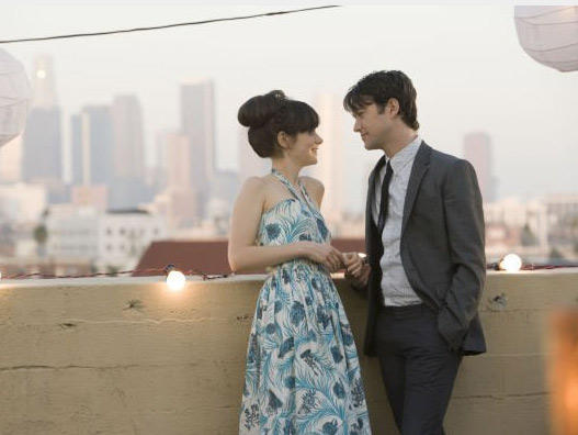 Zooey Deschanel appears in a scene from the 2009 film '(500) Days of Summer.'