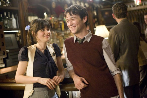 "<div class=""meta image-caption""><div class=""origin-logo origin-image ""><span></span></div><span class=""caption-text"">Zooey Deschanel appears in a scene from the 2009 film '(500) Days of Summer.'Deschanel appears in the film as Summer Finn, the confusing and unconventional woman who doesn't believe in love. Joseph Gordon-Levitt co-stars in the film and appears as Tom, who plays victim to Summer's indecision. Deschanel and co-star Joseph Gordon-Levitt recently created a New Years Eve video that features the pair strumming a cover to a festive 1960s song. (Fox Searchlight Pictures)</span></div>"