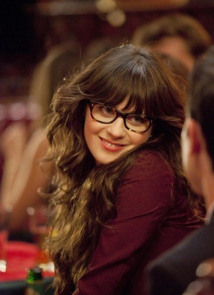 "<div class=""meta ""><span class=""caption-text "">Zooey Deschanel appears in a scene from her 2011 comedy show 'New Girl.'Deschanel appears in the show as the title character, Jess, and after a rocky break-up with her on-screen boyfriend moves in with three male roommates. (American Nitwits / Chernin Entertainment / 20th Century Fox Television)</span></div>"